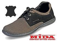 Стильные кожаные туфли МИДА 11393(9) 41