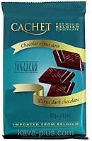 Шоколад Cachet (Кашет) черный 70% какао Бельгия 300г, фото 1