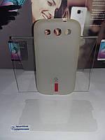 Чехол силиконовый Capdase Samsung I9300+пленка