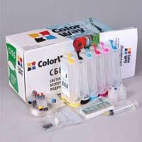 Чернила ColorWay Epson T50/59, P50, TX650/700/800, PX660/700, R270/390, Black, 1 л (CW-EW650BK1)
