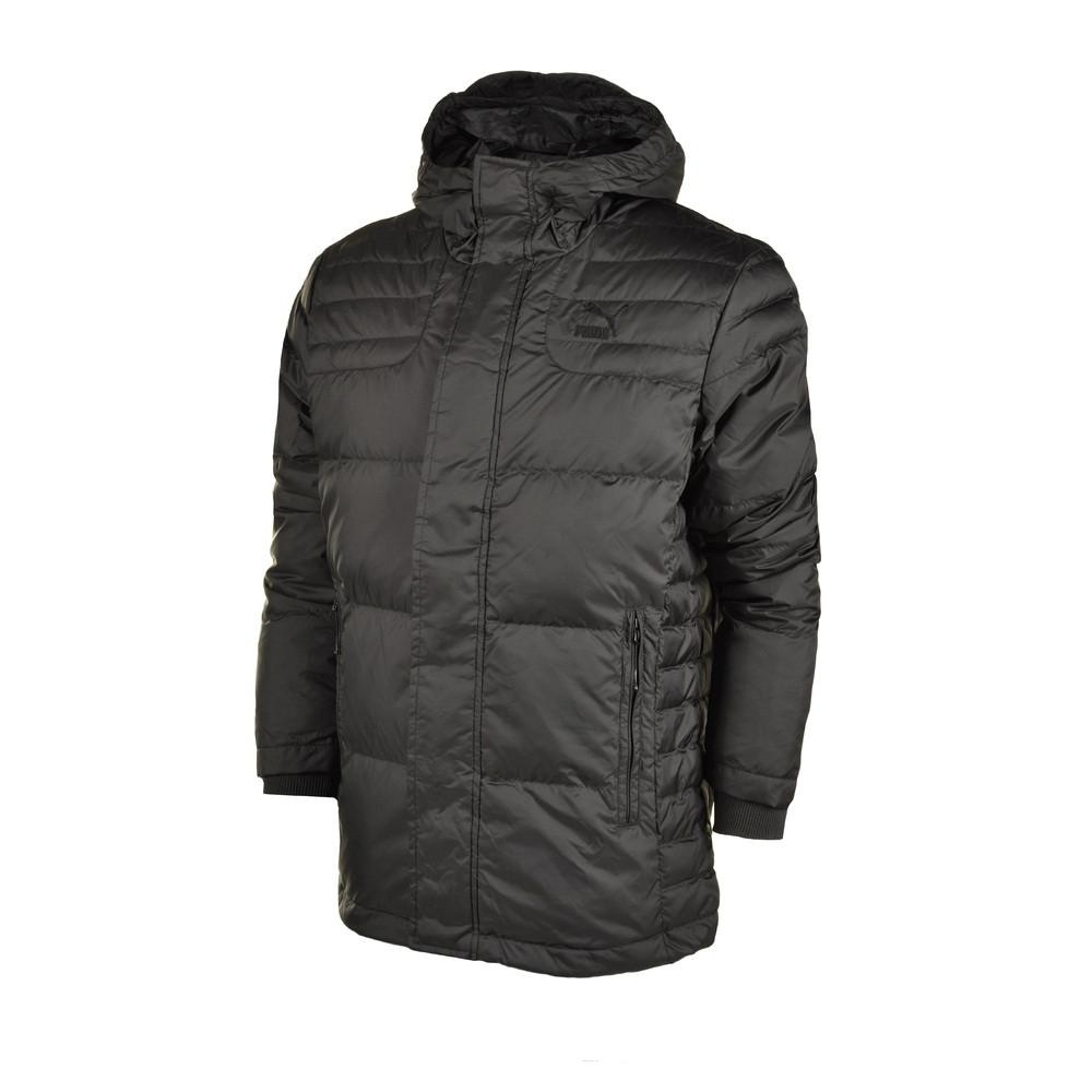 Куртка-пуховик спортивный, мужской Puma Varsity Down Jacket 569168 01 пума