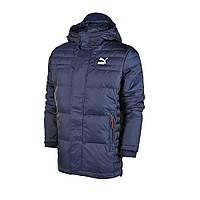 Куртка-пуховик спортивный, мужской Puma Varsity Down Jacket 569168 20 пума , фото 1