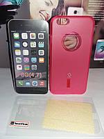 Чехол силиконовый Capdase IPhone 6G+ пленка