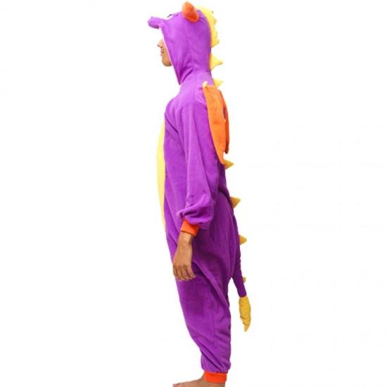 Кигуруми пижама комбинезон Дракон фиолетовый - Интернет-магазин товаров для  всей семьи