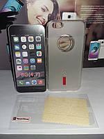 Чехол силиконовый Capdase IPhone 6G+пленка