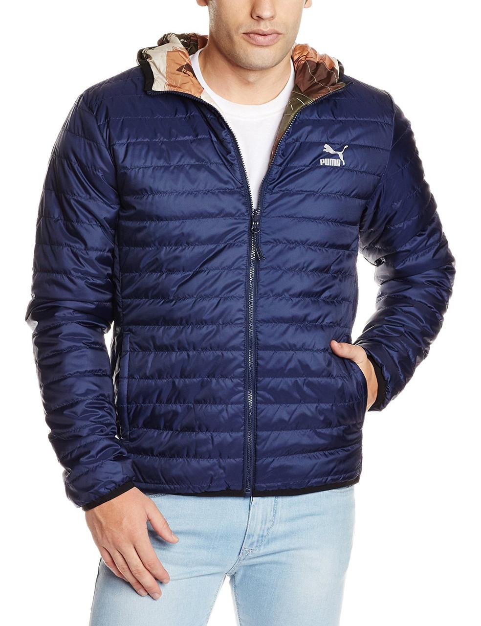 Куртка двухсторонняя спортивная для мужчин PUMA Men's Padded Jacket 569167 20 пума
