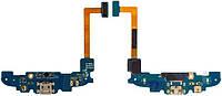 Шлейф для Samsung i8260 Galaxy Core / I8262 Galaxy Core с коннектором зарядки, с компонентами и микрофоном