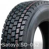 Грузовые шины на ведущую ось 10,00R20 SD-062 Satoya
