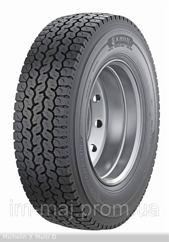 Грузовые шины на ведущую ось 265/70R17.5 Michelin X Multi D