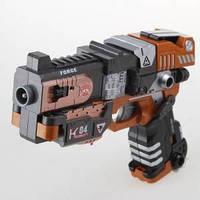 Игровой набор RoboGun 2-в-1: пистолет-трансформер CRUSHER