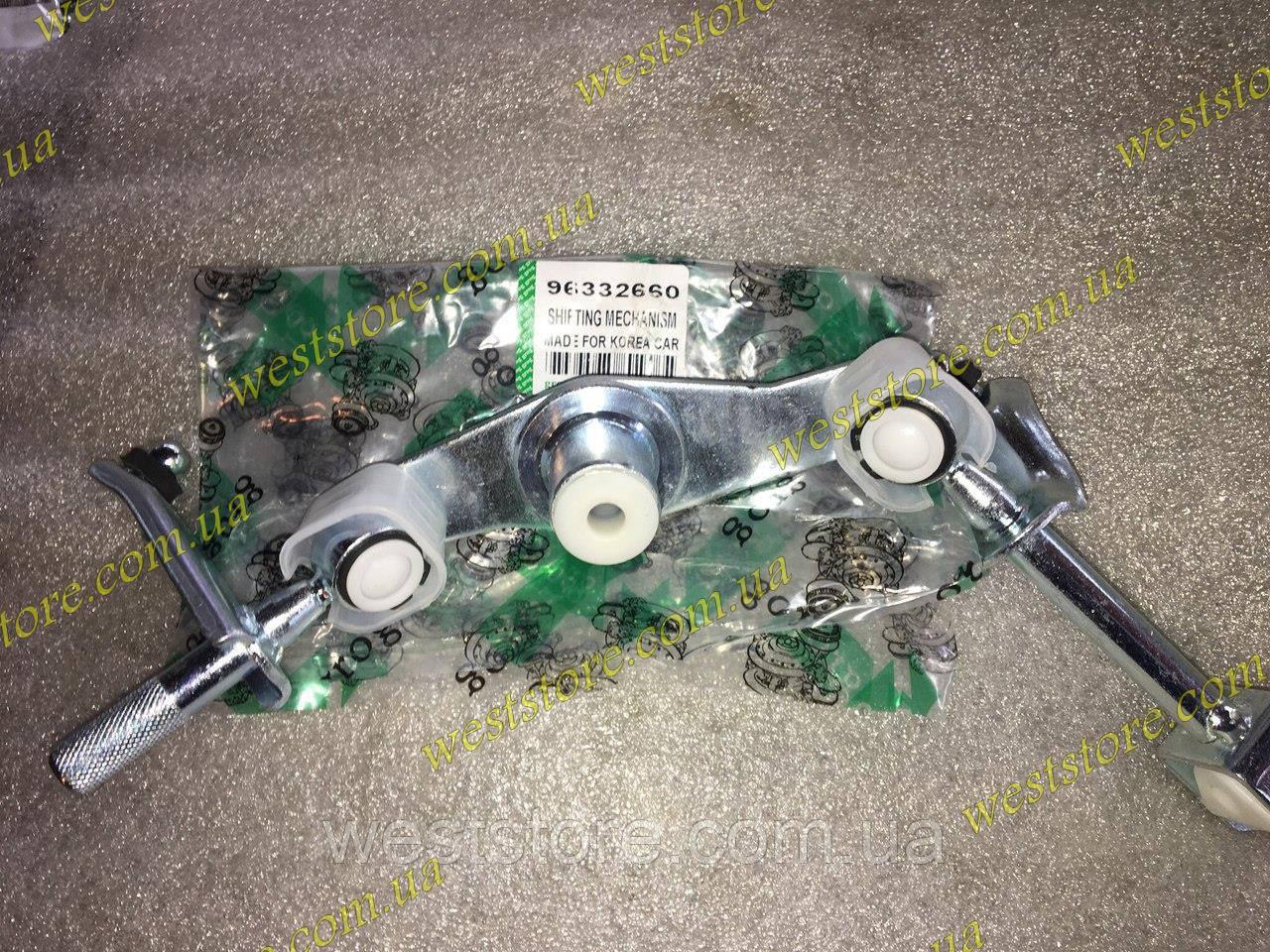 Кулиса (механизм выбора передач) Ланос Lanos Нубира ,без тяги GROG 96332660