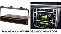 Переходная рамка Ford Galaxy (WGR) 06/2000 - 02/2006 1 Din с полкой