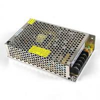 Блок питания 12v 8а 100вт в перфорированном корпусе для светодиодной ленты