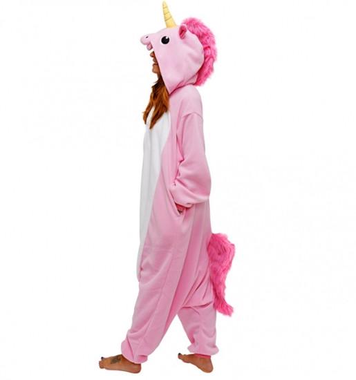 Кигуруми пижама комбинезон для взрослых Единорог (розовый) -  Интернет-магазин товаров для всей c333135c67f45