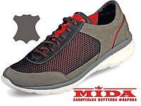 Стильные кожаные кроссовки МИДА 11524(13) 41