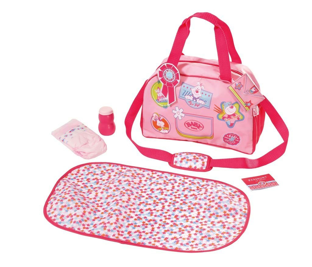 Сумка с набором для пеленания для кукол Беби Борн Baby Bornl Zapf Creation 822227
