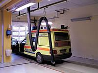 Рейкові витяжні системи для екстрених служб