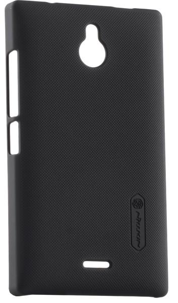 Чехол NILLKIN Nokia X2 (черный) + защитная пленка