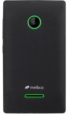 Чехол MELKCO Microsoft Lumia 435 (черный) + защитная пленка