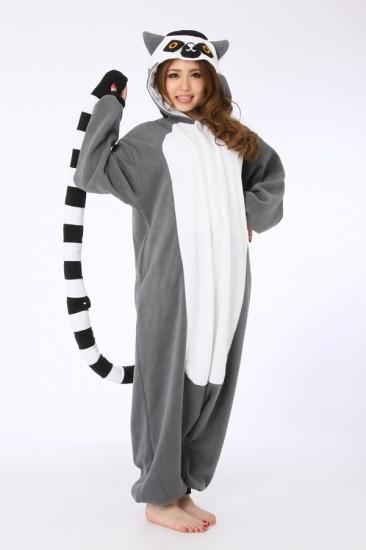 39c484f2ae47 Кигуруми пижама комбинезон Лемур - Интернет-магазин товаров для всей семьи