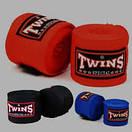 Бинты боксерские (2шт) Эластан + Х-б TWINS CH-3 (l-3м), фото 2