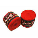 Бинты боксерские (2шт) Эластан + Х-б TWINS CH-3 (l-3м), фото 3