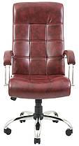Кресло Вирджиния Хром Титан Бордо (Richman ТМ), фото 2