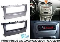 Переходная рамка 1 Din Ford Focus (DB3) 03/2007 - 11/2010 ACV