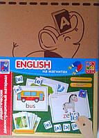 Дидактический материал: English на магнитах VT3701-06 Vladi Toys Украина