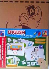 Дидактичний матеріал: English на магнітах VT3701-06 Vladi Toys Україна