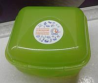 Контейнер универсальный S (13x12x8) зеленый, фото 1