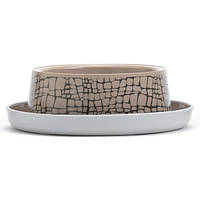 Moderna Trendy Dinner №1 WildLife МОДЕРНА миска для кошек, защита от муравьев, пластик, дизайн Дикий Мир, 350мл, d16см