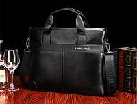 Портфель мужской Polo кожаный