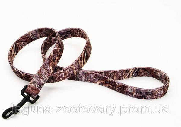 Remington Mossy Oak поводок для собак, нейлон, 2,5смХ1,8м