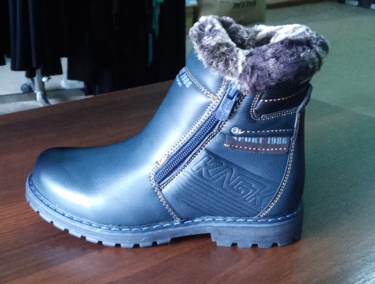 Детские зимние ботинки для мальчиков 27-32р  СВТ.Т, фото 1