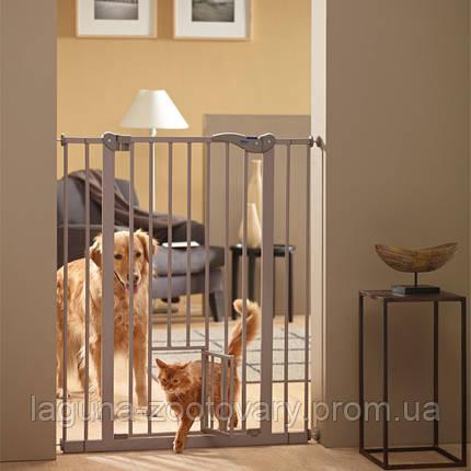 Savic ДОГ БАРЬЕР+ДВЕРЬ 107 (Dog Barrier+small door) перегородка для собак с дверцей, фото 2