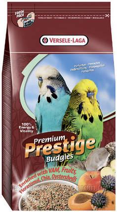 Versele-Laga Prestige Premium ПОПУГАЙЧИК 1кг(Вudgies) зерновая смесь корм для волнистых попугайчиков, фото 2