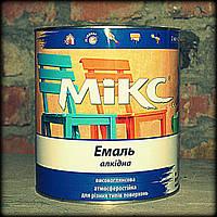 Коричневая краска алкидная  Пф 115 Микс 2,8 кг., фото 1