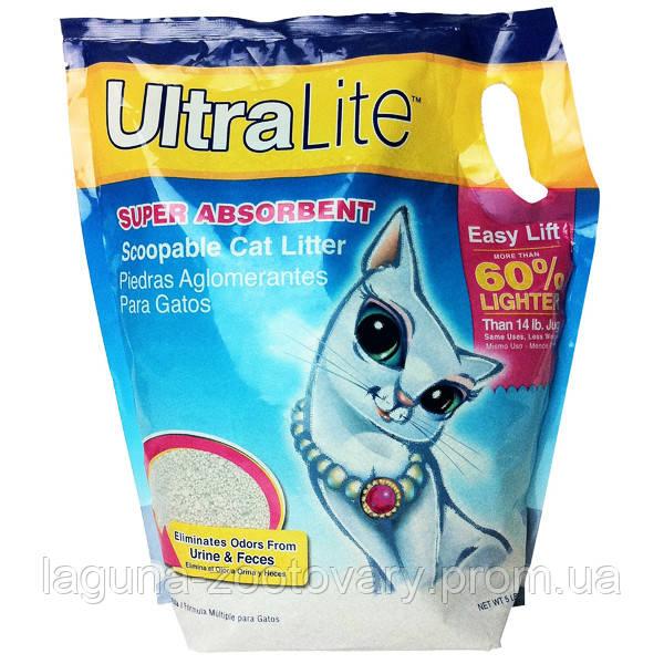 Litter Pearls УЛЬТРА ЛАЙТ (UL) комкующийся ультралегкий наполнитель туалетов для котов
