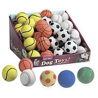 Karlie-Flamingo (Карли-Фламинго) SPONGEBALL SPORT игрушка для собак, спортивный мяч спонжбол, резина