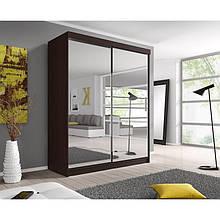 Шкаф купе с зеркальными дверями (120х60х240)