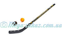 Детский хоккейный набор Хоккей 3101: от 5 лет, клюшка, шайба, мяч
