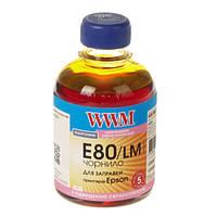 Чернила WWM Epson L800, Light Magenta, 200 г (E80/LM)