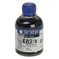 Чернила WWM Epson Stylus Photo P50, PX660, T50, TX650/700, R270/290, Black, 200 г (E82/B)