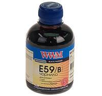 Чернила WWM Epson Stylus Pro 7700/9700, Black, 200 г (E59/B)