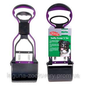 Karlie-Flamingo WASTE SCOOPER совок для уборки за собакой на прогулке, пластик, 38х12х10см