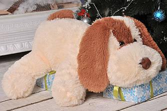 Мягкая игрушка: Собачка Шарик, 75 см, Персиковый