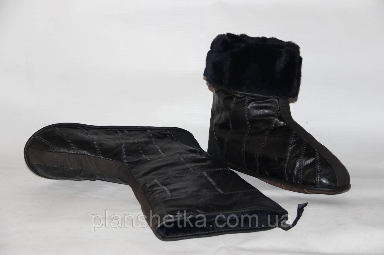 Валенки кожаные овчинный мех  - Интернет-Магазин ПЛАНШЕТКА  в Каменце-Подольском