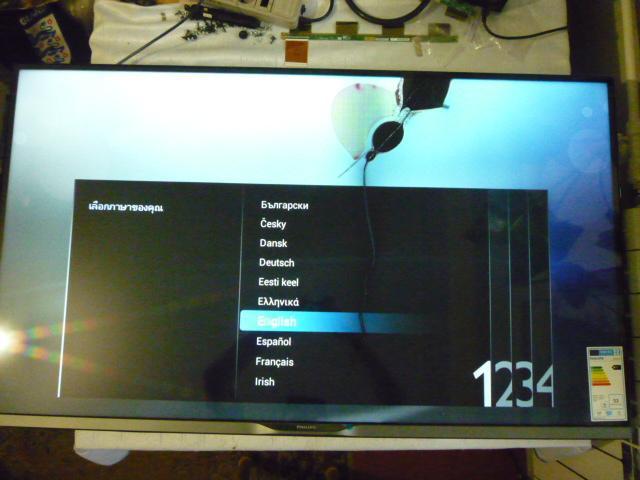 Плати від LED TV Philips 47PFH5609/88 (TPN14.1E LA) по блоках, в комплекті (розбита матриця).