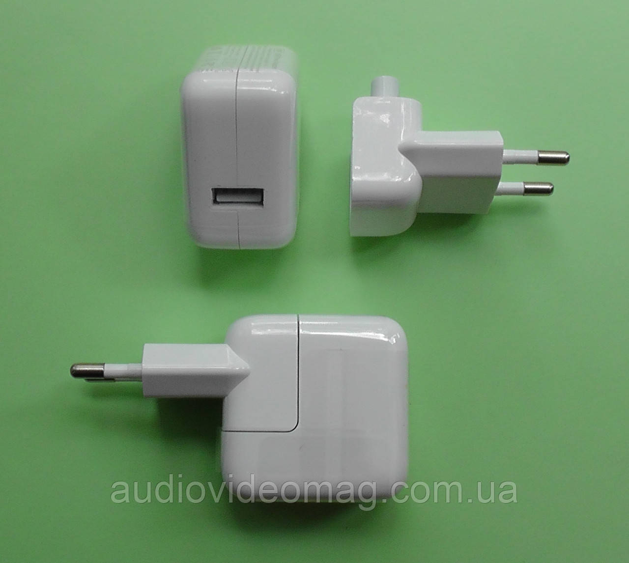 Блок питания КУБ USB 5.2V 2.4A 12Wt , белый